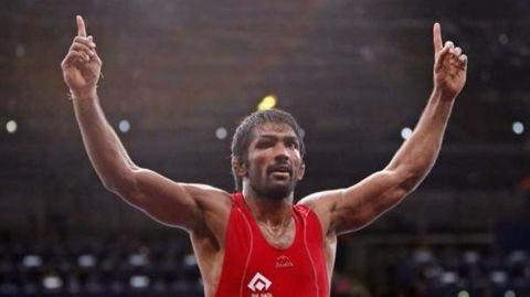 Yogeshwar Dutt qualifies for Rio Olympics