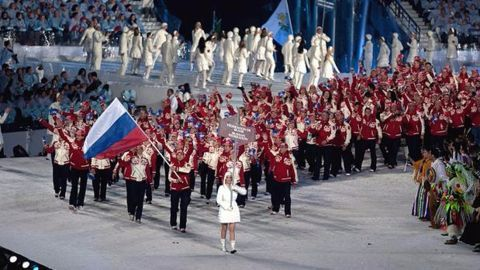 Russian team leaves for Rio