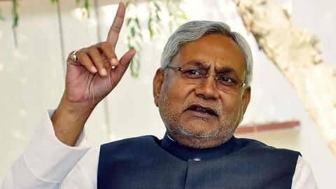 Nitish Kumar calls slipper throwing incident a 'publicity stunt'