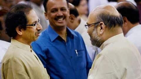 Maharashtra: Shah meets Uddhav Thackeray; discusses political-situation with BJP executive-committee