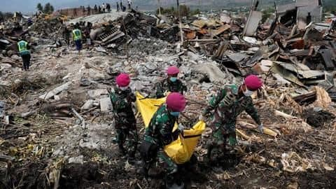 5.1 natural disaster hits already devastated Indonesian island