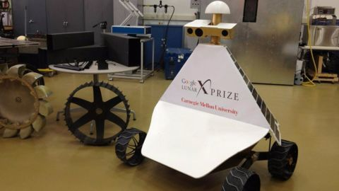 MoonEx in contention for Google Lunar XPRIZE