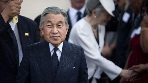 Japan's Emperor indicates his desire to abdicate in a video