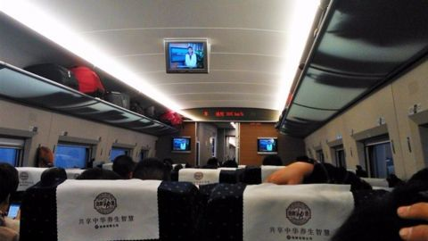 China's high speed rail network expansion