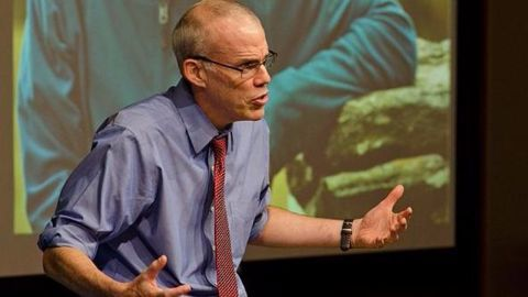 Environmentalist McKibben says Climate Change is WW-III