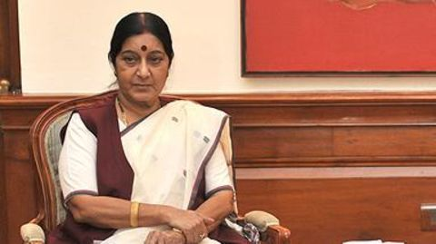Sushma to stranded workers: Return by 25 September