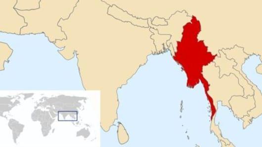 The Myanmar earthquake