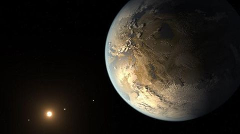 Earth-like planet orbiting our closest neighbour!