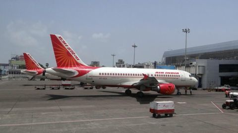 AI's Plane Wing nearly Collided with SpiceJet's Airport Shuttle