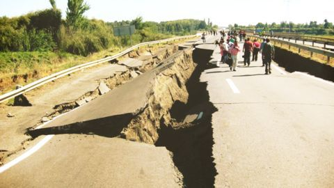 Are earthquakes increasing in frequency?