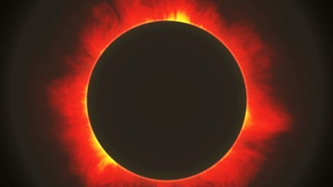 What are annular solar eclipses?