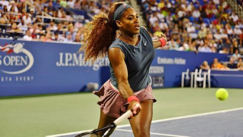 Serena survives Halep scare