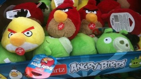 Angry Birds' licensing tribulation