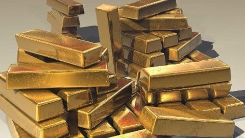 Gold prices plummet to a five year low