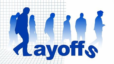 Layoffs indicating a shift in priorities