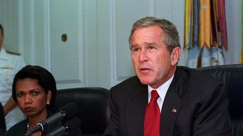 It all started with George W. Bush