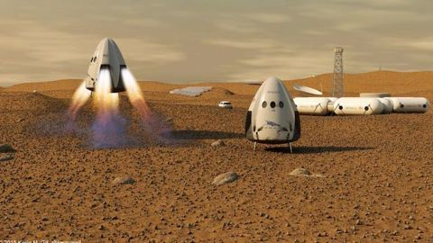 SpaceX launches Interplanetary Transport System to colonize Mars