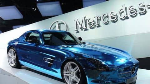 Mercedes India to have plug-in hybrids, electric cars by 2018