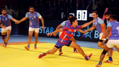 Defending champions India stunned by Korea in Kabaddi WC opener