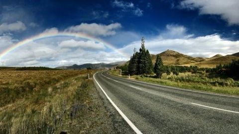 How is the self-repairing road different from others?