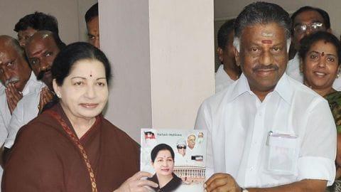 Jayalalithaa's portfolios handed over to Finance Minister