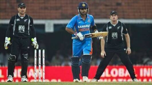 India - New Zealand 1st ODI!