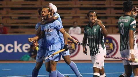 India edge out Pakistan 3-2 in Asian Hockey Champions Trophy