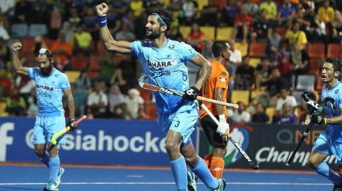 India hand Malaysia first loss as Rupinder shines again