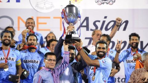 India defeat Pakistan to lift Asian Champions Trophy
