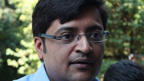 Arnab Goswami, the Indian prime time news star
