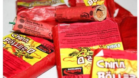 Largest haul of Chinese firecrackers seized