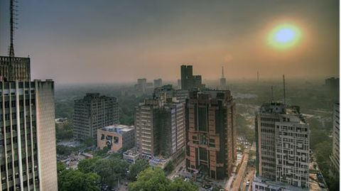 Can the capital of India breathe?