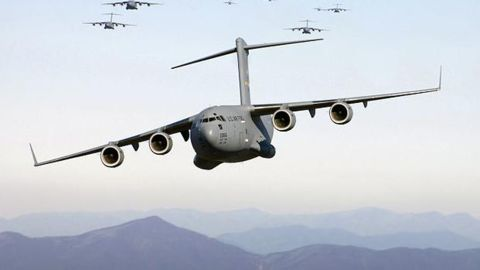 C17 Globemaster arrives in Arunachal