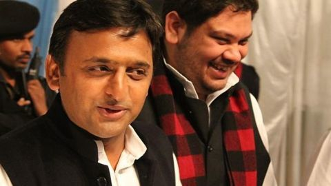 Samajwadi party's eventful silver jubilee celebrations