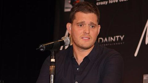 Michael Buble's 3-yr-old son diagnosed with cancer