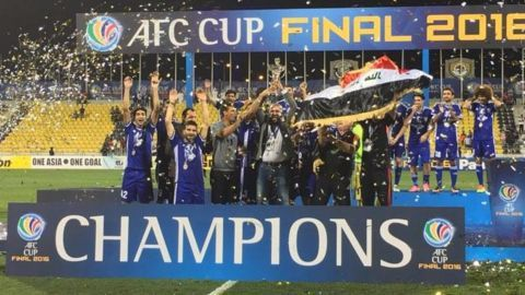 Iraq's Air Force Club lifts the 2016 AFC Cup