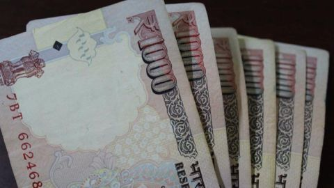 How is money issued in India?