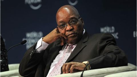 South African President survives another turbulent year