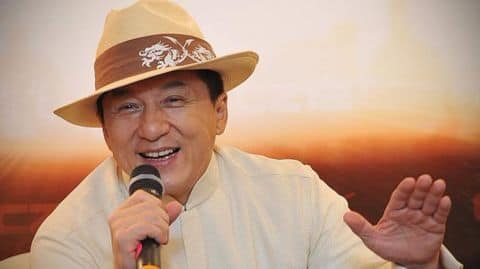 Jackie Chan wins an Oscar after 56 years in movies