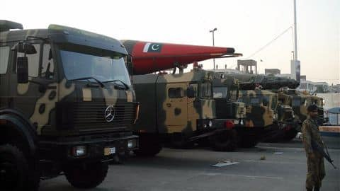 Pakistan expanding nuclear arsenal; has 130-140 nuclear warheads