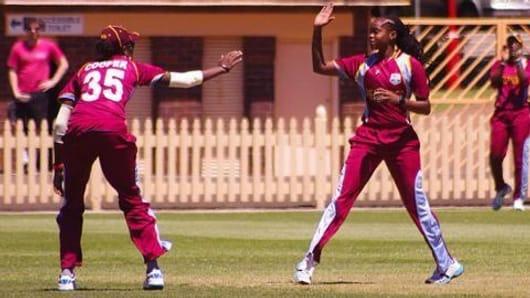 West Indies women's cricket team in India