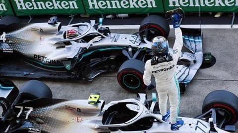 Valtteri Bottas wins Japanese Grand Prix: List of records broken
