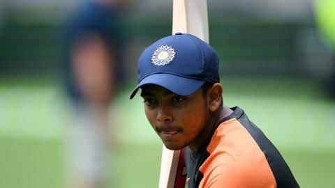 Prithvi Shaw smashes 150, could knock Test selection door