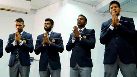 Sri Lankan cricket squad leaves for Pakistan despite security concerns