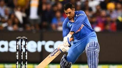 Sourav Ganguly wants MS Dhoni to bat at number four
