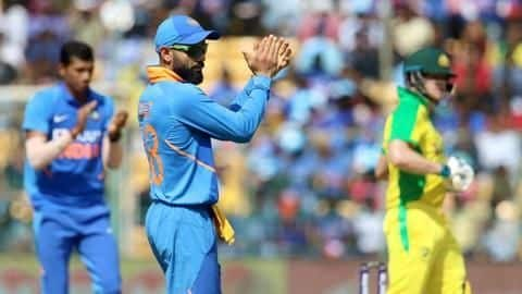 3rd ODI, India beat Australia: List of records broken