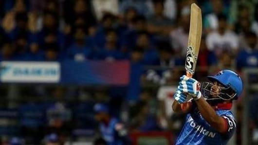 IPL 12: Rishabh Pant powers DC against MI