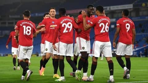 Premier League, Manchester United beat Brighton: List of records broken