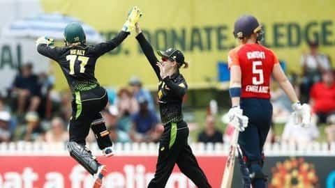 Women's T20I tri-series: Australia and India qualify for final