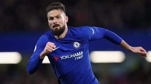 Atletico Madrid table offer to Chelsea for Olivier Giroud